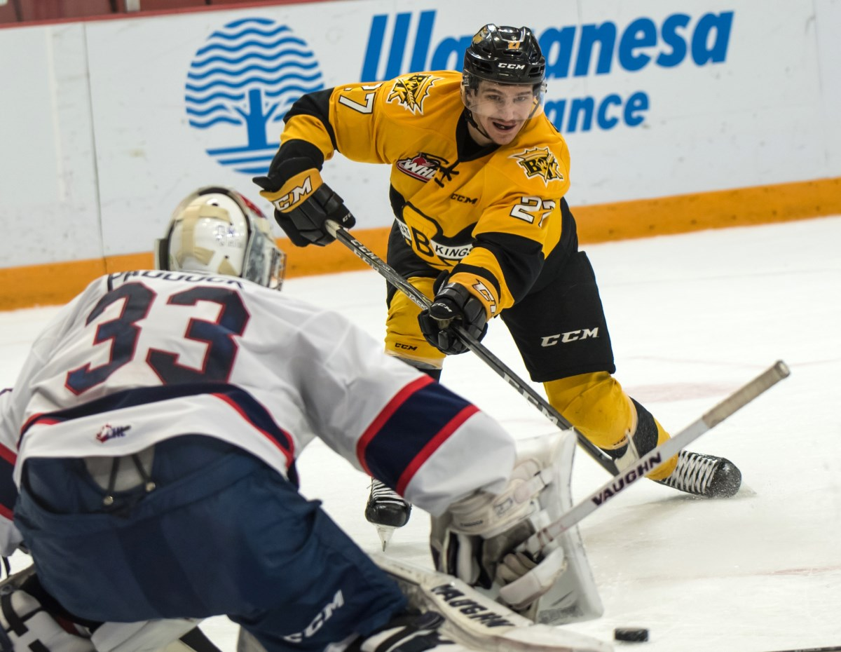 Wheat Kings Burzan Brandon S Miner Selected By Colorado In Nhl